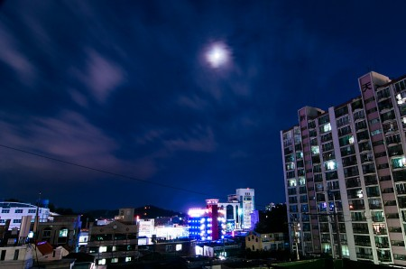 Gwangju City At Night